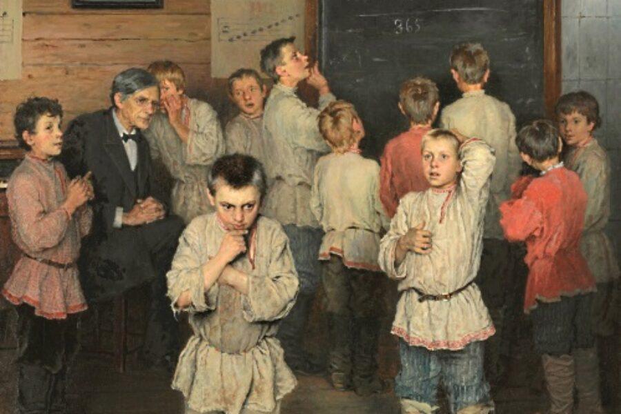 Aritmetica mentale nella scuola di Rachinsky (3)