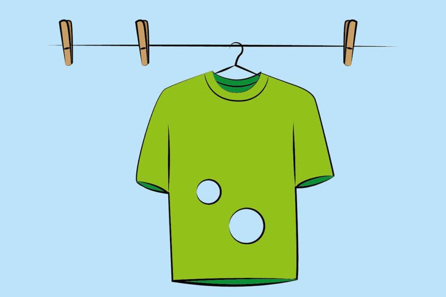 Quanti buchi ci sono in questa t-shirt? – L'avete risolto?